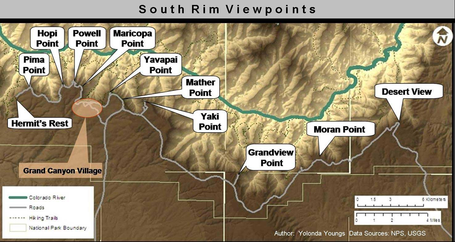 Rim Viewpoints Nature Culture And History At The Grand Canyon