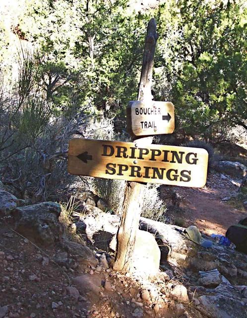 Boucher-Dripping Springs Trail – Nature, Culture and History